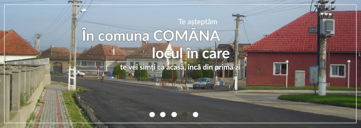 Comuna Comăna - Județul Brașov